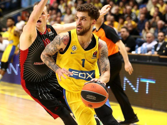 Scottie Wilbekin Maccabi Tel-Aviv Armani Milano