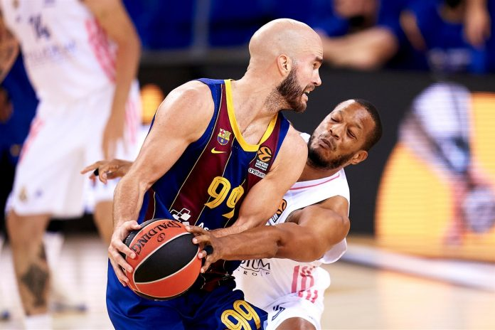 Nick Calathes Barcelone Real Madrid