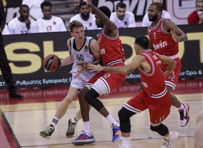 Marius Grigonis Zalgiris- Olympiacos