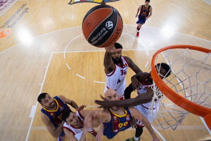 Octavius Ellis Olympiacos EuroLeague