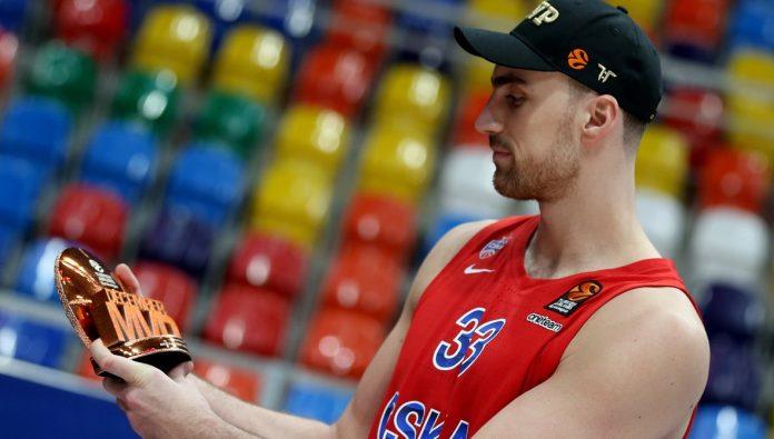 Nikola Milutinov CSKA Moscou