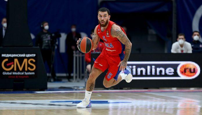 Mike James CSKA Moscou