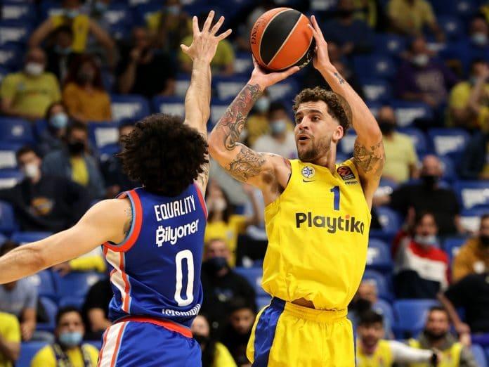 Scottie Wilbekin Maccabi Tel-Aviv Anadolu Efes