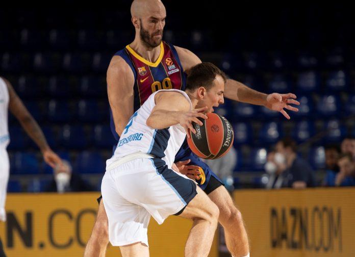 Kevin Pangos Zenit FC Barcelone