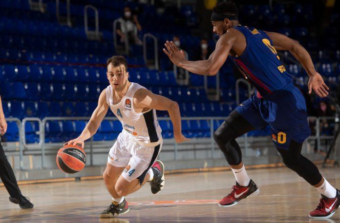 Kevin Pangos Zenit Saint Petersburg Brandon Davies Barcelone
