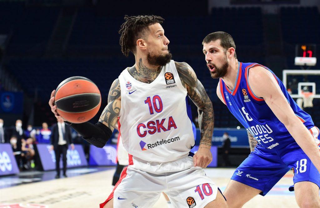 Daniel Hackett CSKA Moscou Anadolu Efes» class=