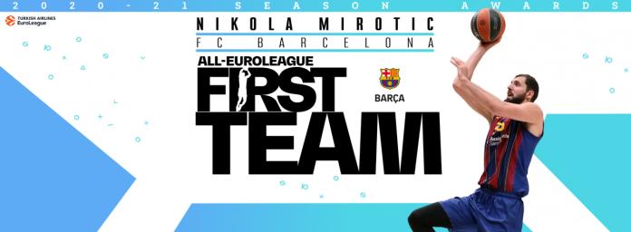 Nikola Mirotic FC Barcelone