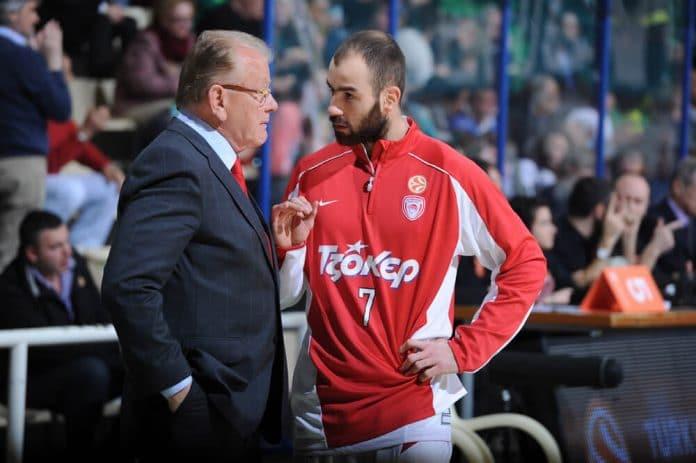 Dusan Ivkovic Vassilis Spanoulis